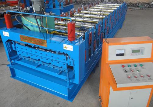 840/900双层彩钢压瓦机