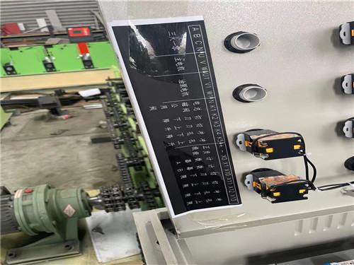 压瓦机电器柜安装