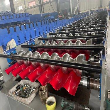 全自动彩钢压瓦机 压瓦机设备
