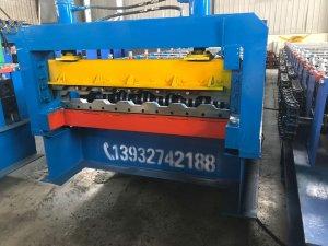 新型高强钢箱板机
